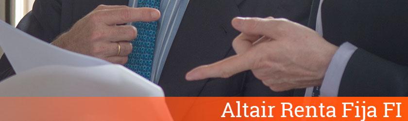 Altair Renta Fija FI - Altair Finance