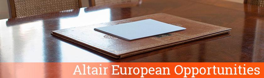 Altair European Opportunities - Altair Finance