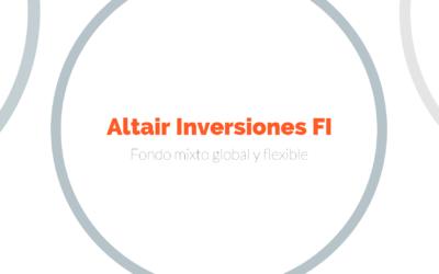 """""""El secreto de Altair Inversiones es el estilo y la personalidad a la hora de gestionarlo"""""""