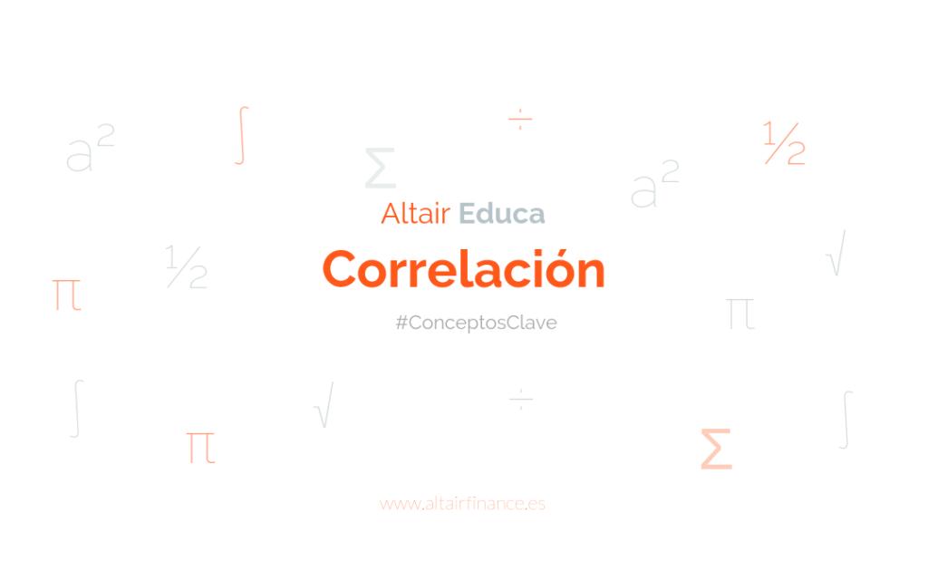 ¿Qué es la correlación?