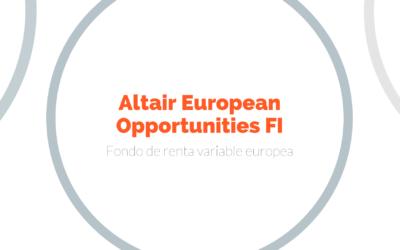 Altair European Opportunities FI cierra 2019 con 5 estrellas VDOS, la máxima calificación