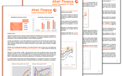Informe trimestral Altair Finance 2T 2020